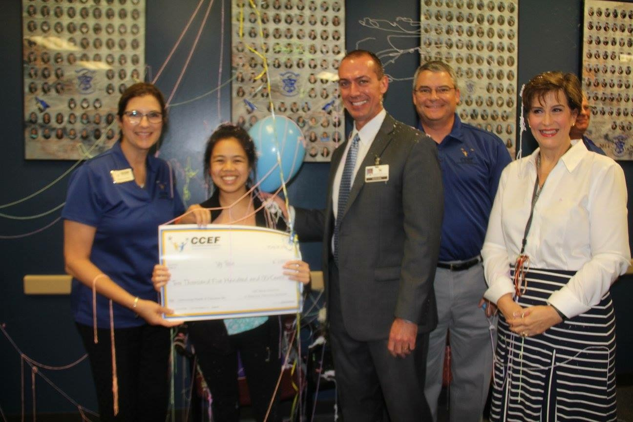 Vy Tran Receives Grant